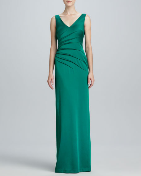 Sleeveless Sheath Gown