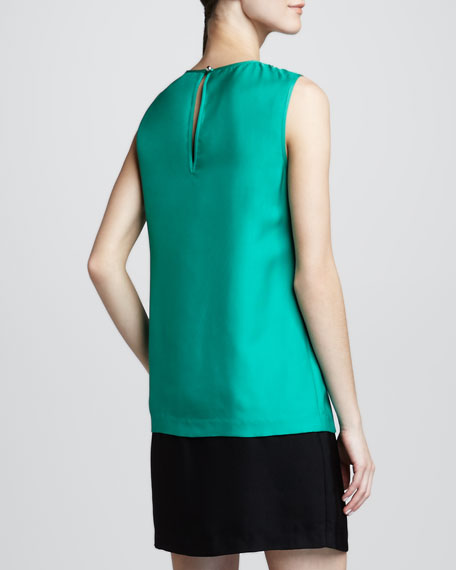 rosita sleeveless shift dress