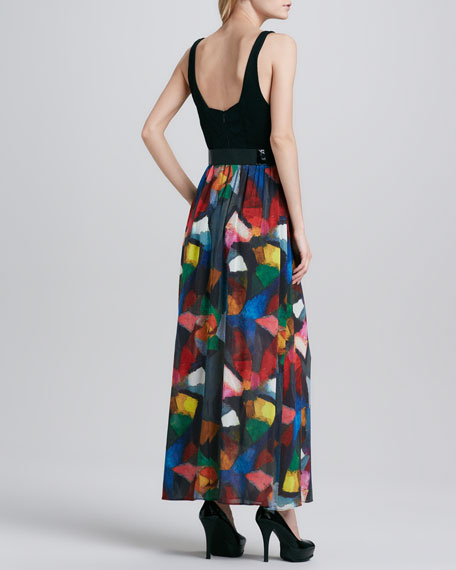 Kell Belted Maxi Dress