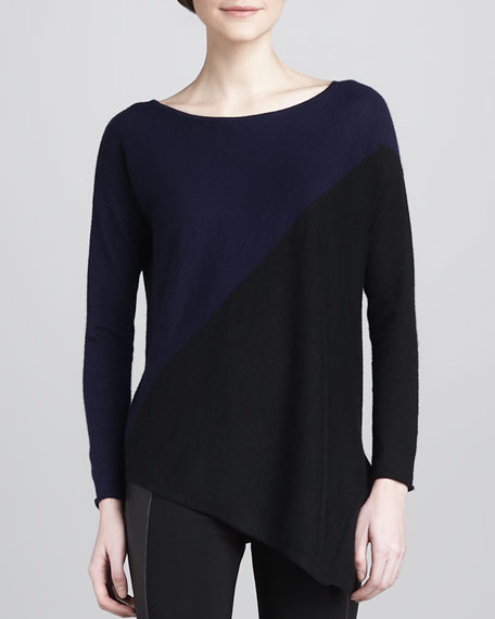 Braelyn Two-Tone Pullover