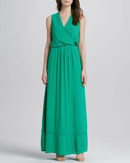 Ella Moss Stella Surplice Maxi Dress