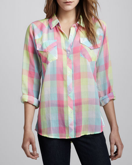 Rails taylor gauze button down shirt for Gauze button down shirt