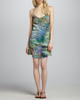 Charlie Jade Julia Scale-Print Dress