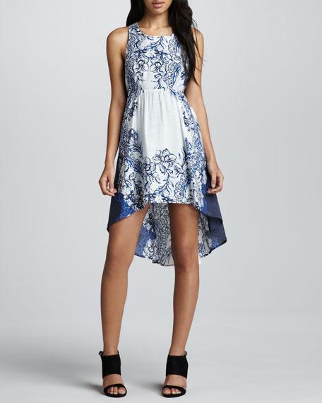 Sleeveless Hi-Low Dress