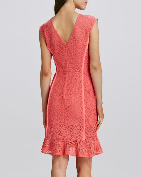 nanette lepore la roca lace dress mango