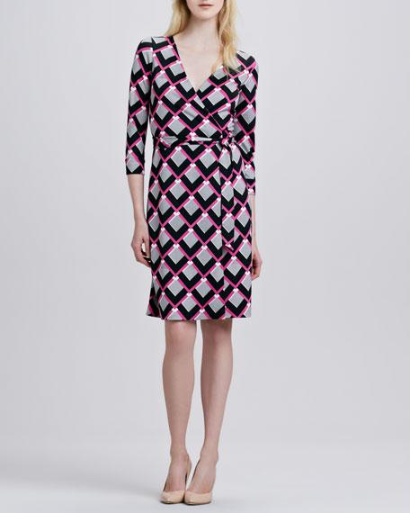 New Julian Two Gemetric-Print Dress