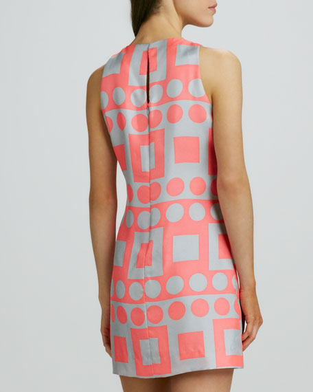 Maggie Printed Sleeveless Dress