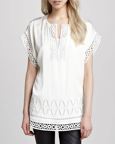 Cutout-Trim Tunic