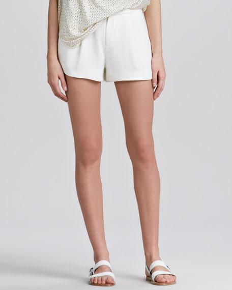 Silk Tuxedo Shorts