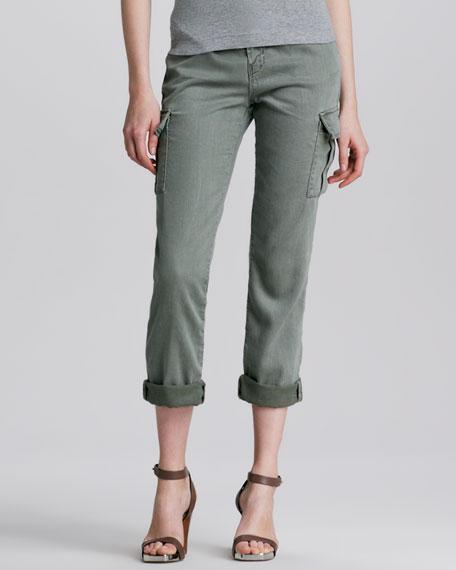 Croft Cuffed Cargo Pants