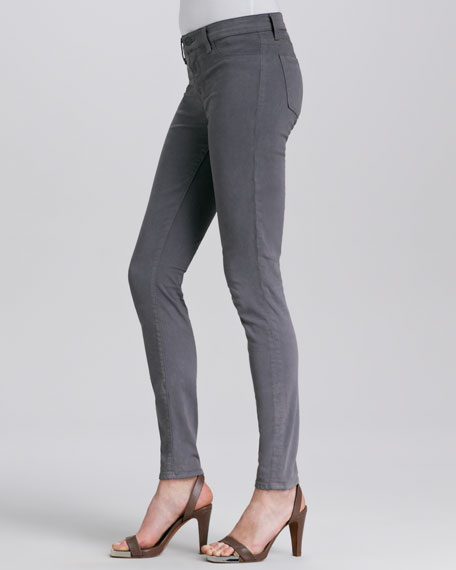 Luxe Sateen Super Skinny Jeans