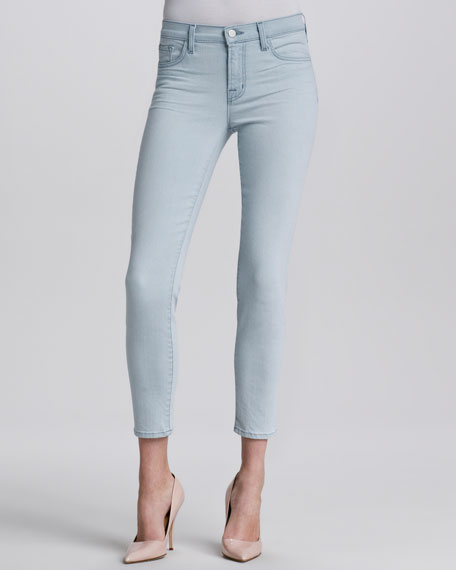 Solana Mid-Rise Cropped Skinny Jeans