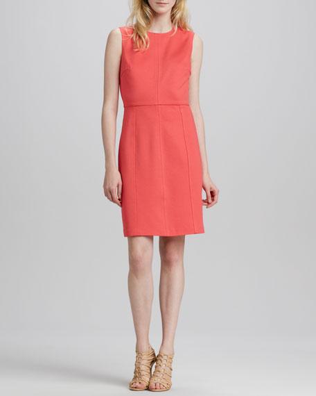 Kensie Fitted Ponte Dress