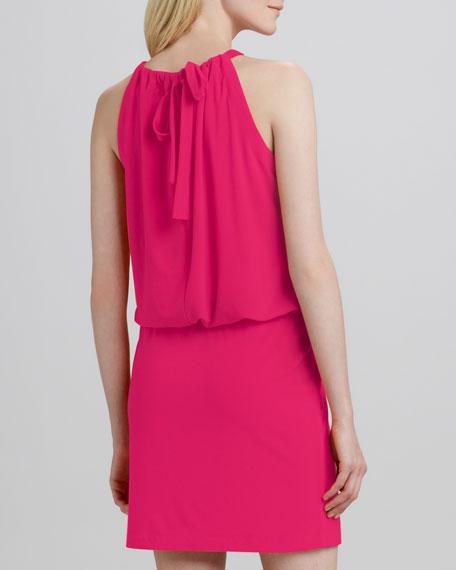 Windy Sleeveless Jersey Dress