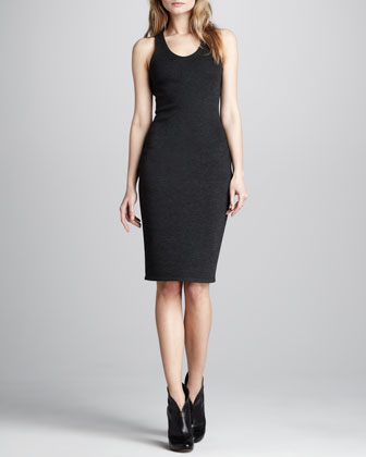 Formfitting Back-Cutout Dress