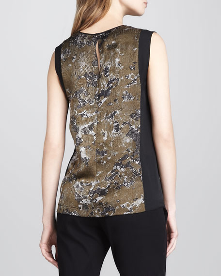 Solid-Panel Printed Top