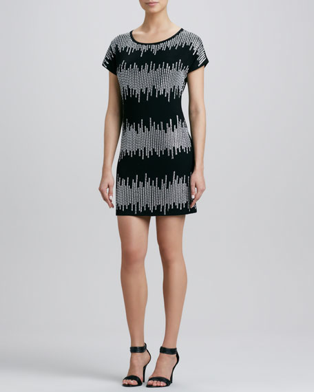 Airwaves Short-Sleeve Dress