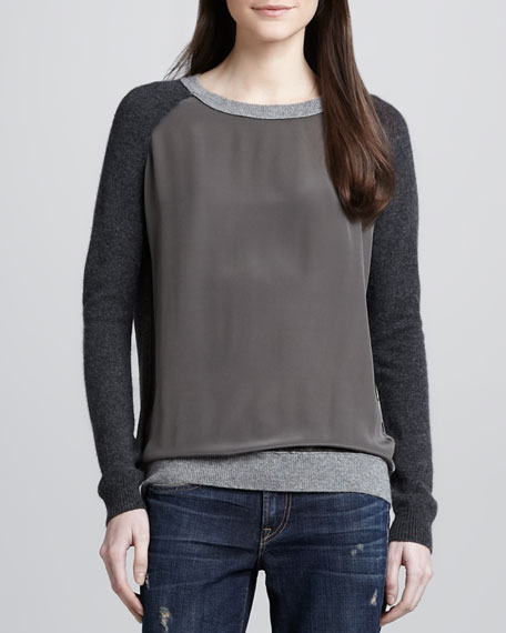 Colorblock Combo Sweater