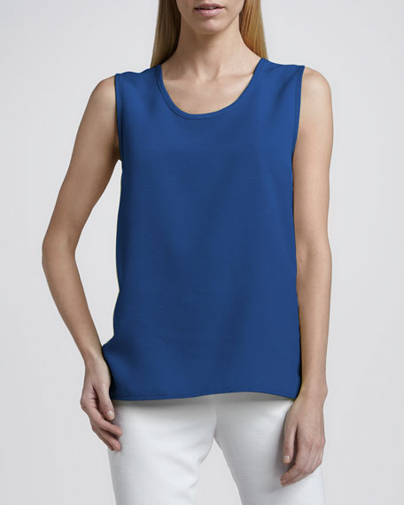 Shantung Longer-Cut Tank, Women's