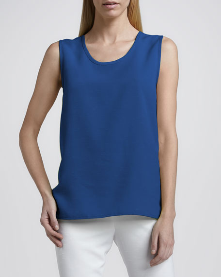 Shantung Longer-Cut Tank