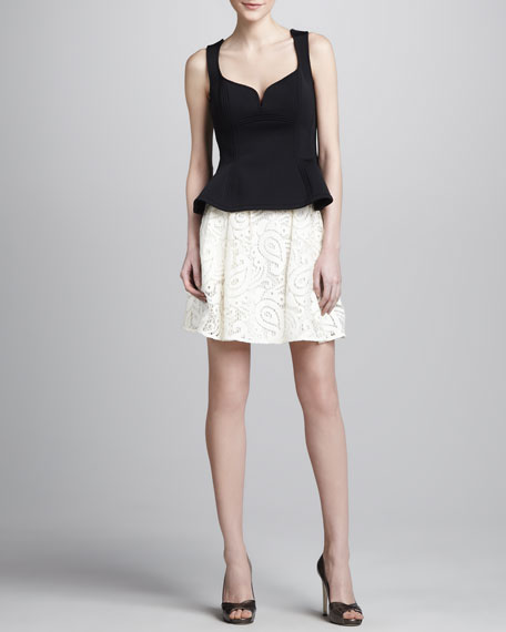 Cha-Cha-Cha Lace Skirt