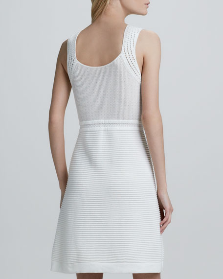 Capazzo Knit Sleeveless Dress
