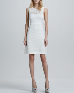 Nanette Lepore Capazzo Knit Sleeveless Dress