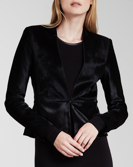 Montagu Calf-Hair Jacket