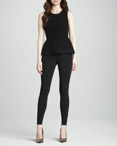 Khedoori Zipper-Cuff Pants