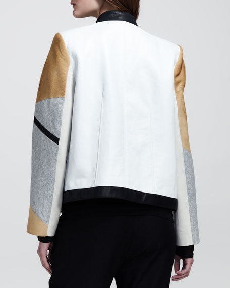 Boxy Segment Suiting Jacket