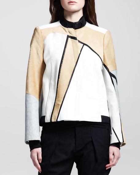 Boxy Segment Suiting Jacket