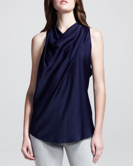Draped Racerback Top, Etch