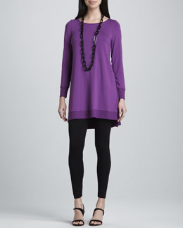 Eileen Fisher Viscose Jersey Leggings, Petite