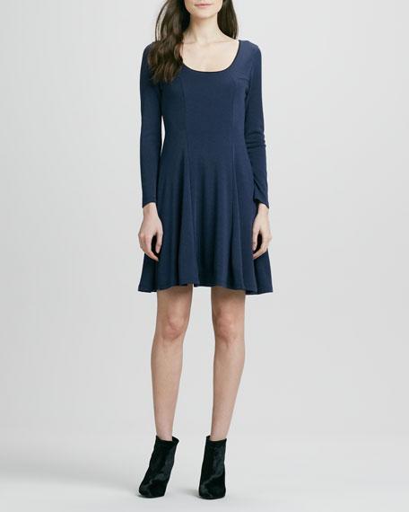 Ricci Lace-Back Flared Dress
