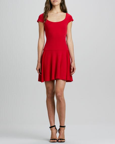 Rylie Lace-Back Dress