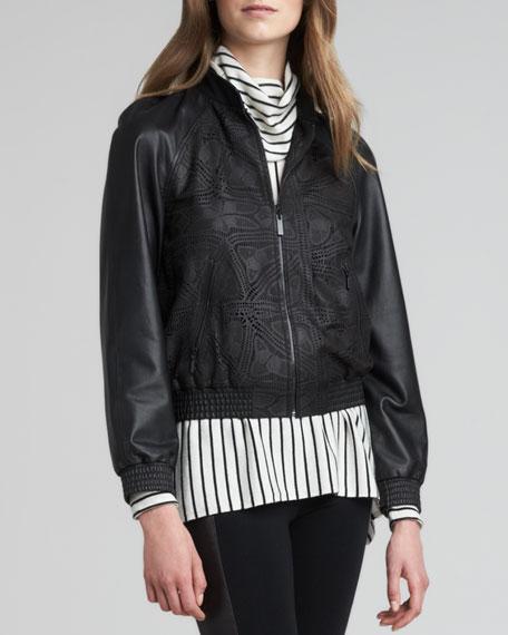 Zeanah Leather Jacket