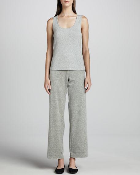 Heather Velour Pants, Women's