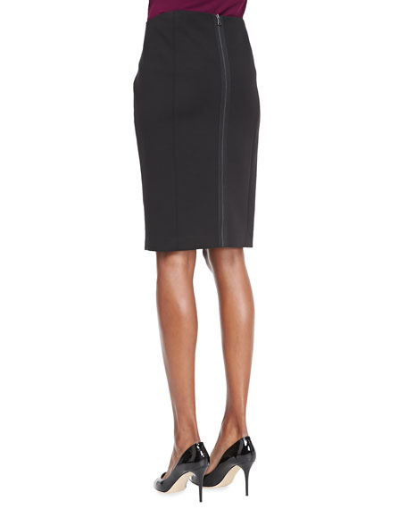 Aria Plaid Pencil Skirt