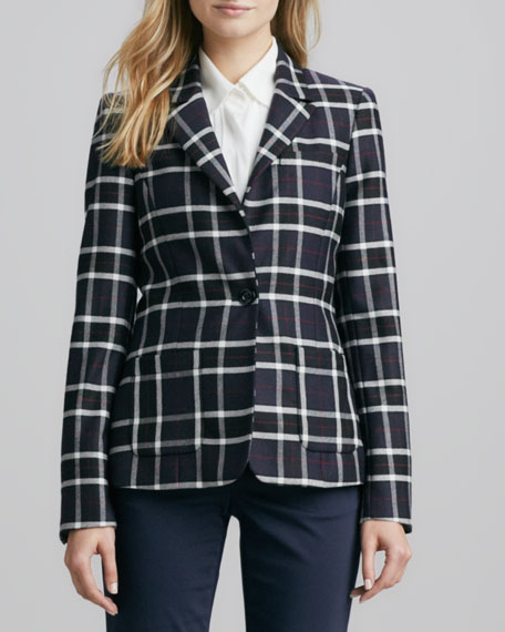 Savetta Plaid Jacket