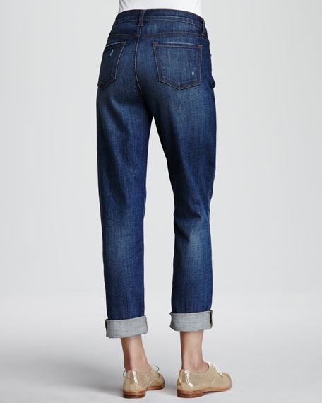 Aiden Flintlock Distressed Boyfriend Jeans