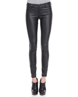 Blank Vegan-Leather Ankle Leggings (Stylist Pick!)