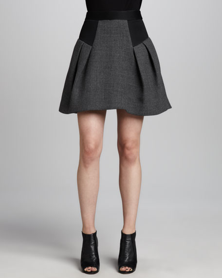 Raquel Flared Skirt