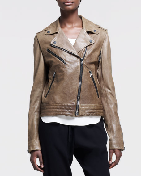 Bowery Leather Motorcycle Jacket