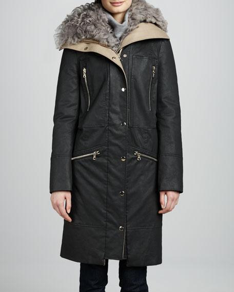 Alvarez Fur-Lined Coat