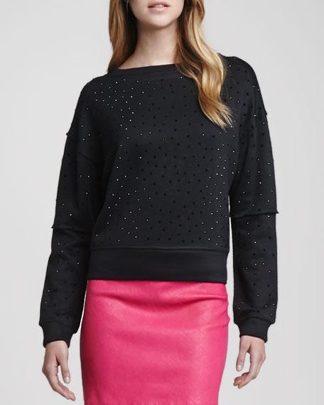 Scarlit Studded Sweatshirt