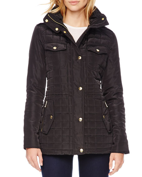Quilted Puffer Jacket