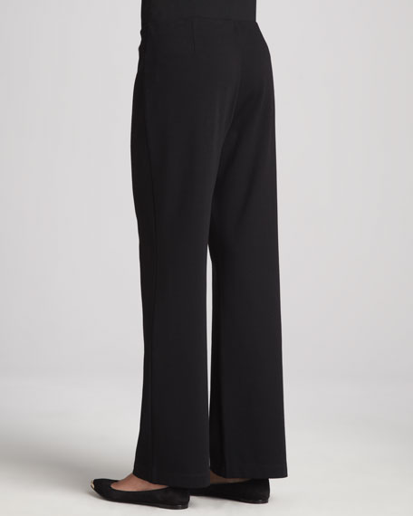 Straight-Leg Ponte Pants, Women's