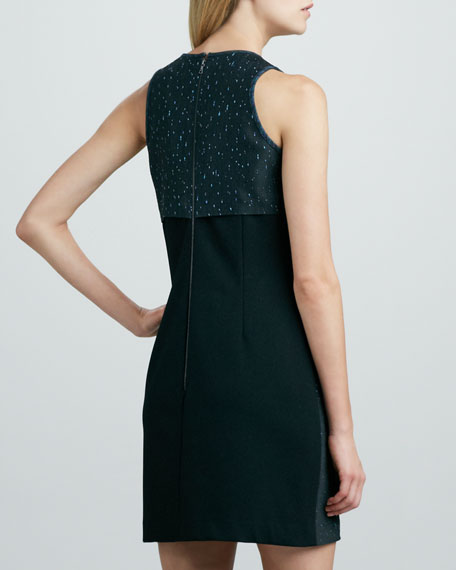 Sleeveless Space-Dye Dress