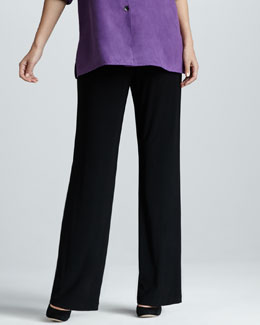 Caroline Rose Stretch-Knit Pants