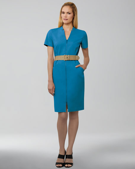 Hathaway Stretch-Cotton Dress